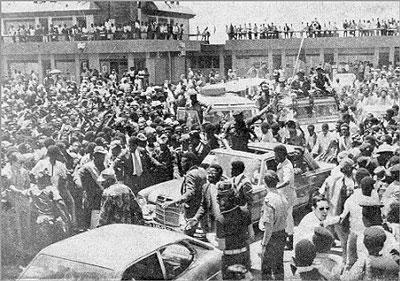Savimbi en Huambo