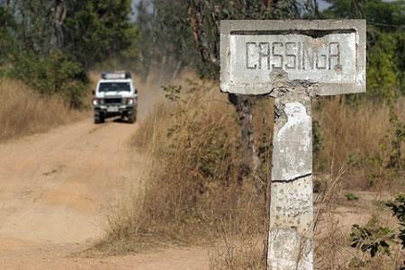 Entrada a Cassinga, años después. Foto del blog La Ultima Guerra
